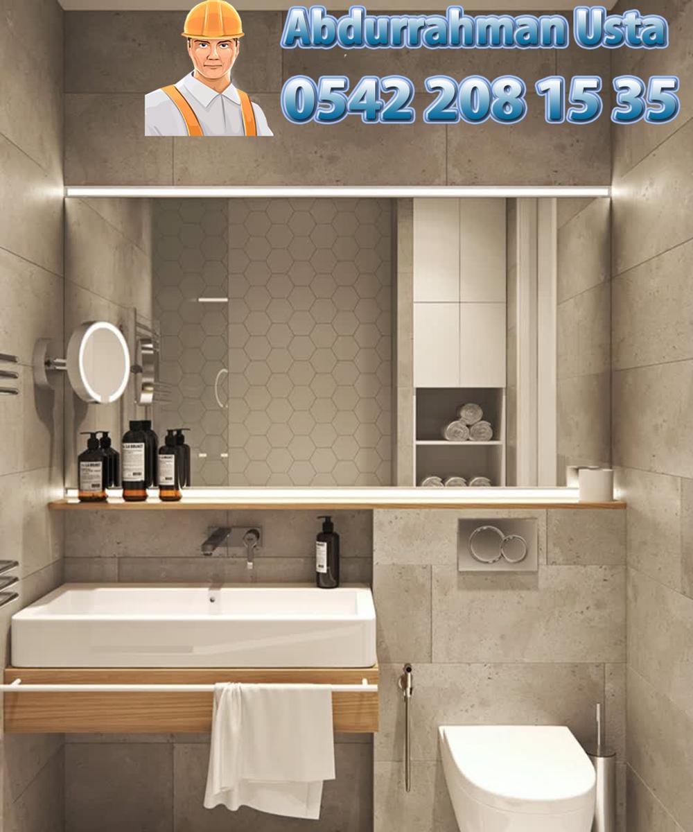bursa nilüfer banyo, tuvalet dekorasyon ve yenileme ustası abdurrahman usta